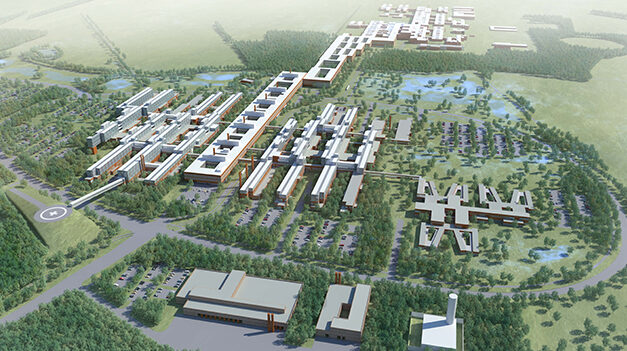 Region Syddanmark bevilger midler til Byg til Vækst-pavillon på Nyt OUH