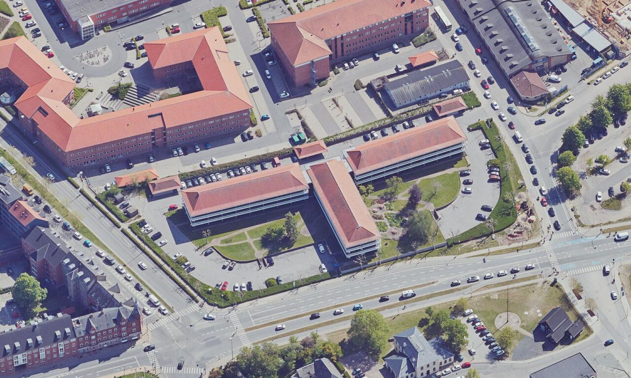 Statsligt kontorhub i Odense