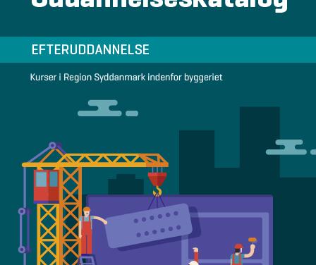 Nyt katalog samler efteruddannelse inden for bygge-anlæg på fyn